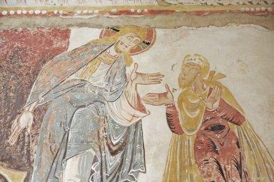 Saint-Savin-sur-Gartempe Nave Frescoes [replicas]