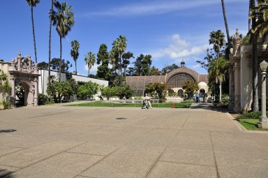 Balboa Park; Botanical Building