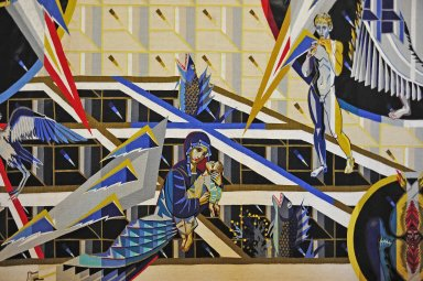 Tapestry Commemorating the Chernobyl Tragedy