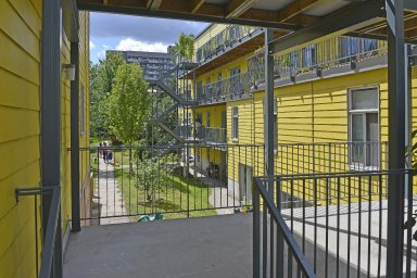 Housing unit for Coop¿rative d¿habitation Au-Pied-du-Courant