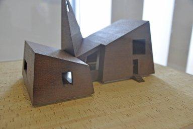 Flaine Chapel Model