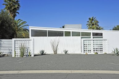 Mid-Century Modernist House with Butterfly Roof