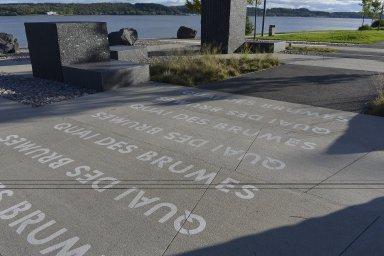 Promenade Samuel-De Champlain: Quai des Brumes