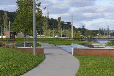 Promenade Samuel-De Champlain: Quai des Flots