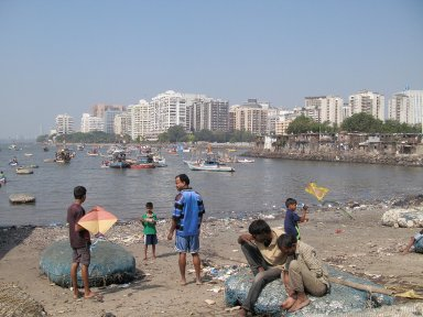 Mumbai: Topographic Street Views