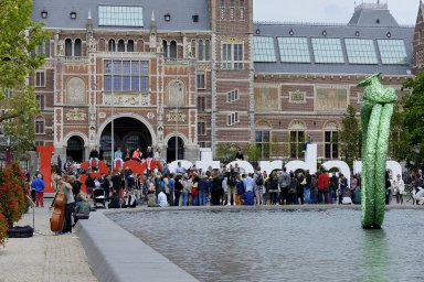 I amsterdam [sign]