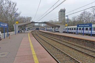 Warszawa Powi¿le railway station
