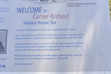 Cartier-Br¿beuf National Historic Site