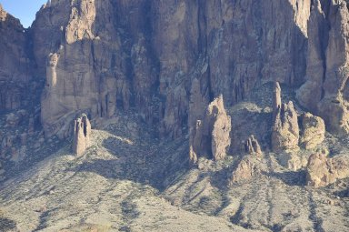 Lost Dutchman State Park: Topographic Views