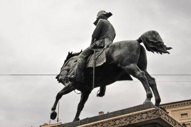 Equestrian statue of King Carlo Alberto