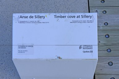 Timber cove at Sillery