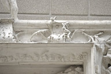 Gates of Hell [original plaster model]