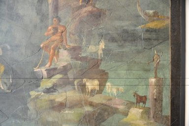"Landscape with Polyphemus and Galatea: from the ""Mythological Room"" of the Imperial Villa at Boscotrecase"