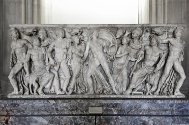 Sarcophagus: Achilles in the house of King Lycomedes