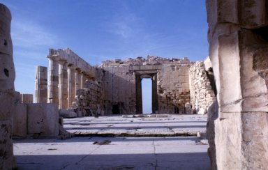 Parthenon: Cella