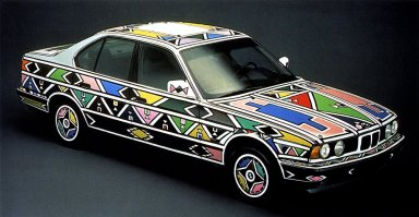 BMW Ndebele Art Car