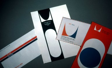 Herman Miller Letterhead and Brochure