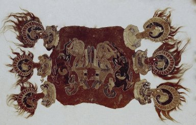 Felt Saddle Covering from 1st Pazirik Tomb