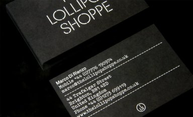 Lollipop Shop Identity
