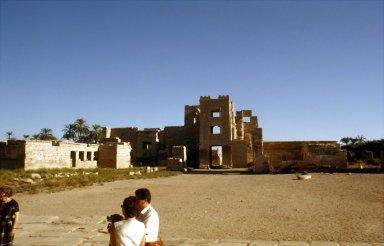 Mortuary Temple of Ramesses III: High Gate