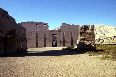 Mortuary Temple of Ramesses III: First Pylon