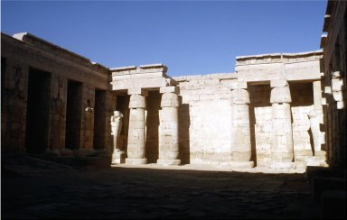 Mortuary Temple of Ramesses III: Second Court of Main Temple