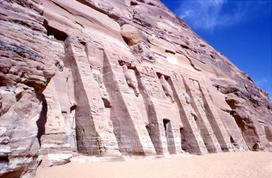 Temple of Hathor and Nefertari