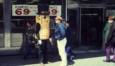 Peanut Store, with Planters' Mr. Peanut