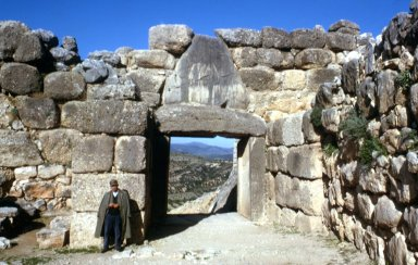 Citadel at Mycenae: Lion Gate