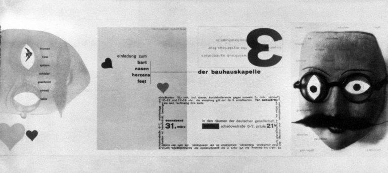 Bauhaus Invitation
