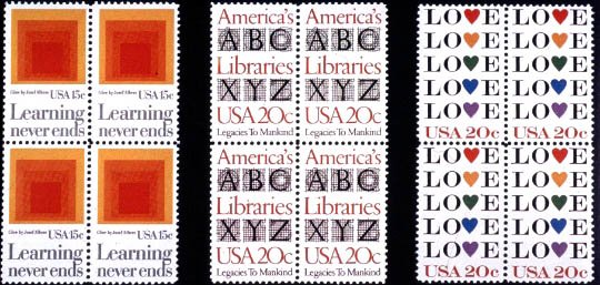 United States Post Office Stamps