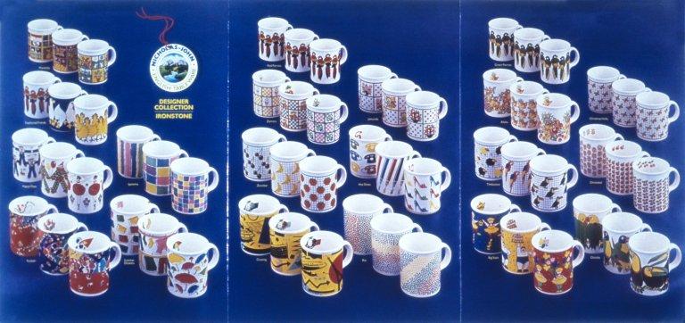 Ironstone Coffee Mugs