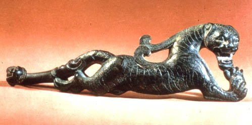 Buckle: Tiger Figure