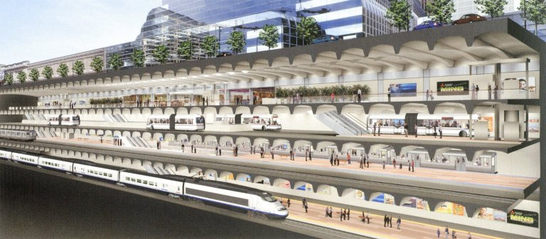 Chicago Central Area Plan: West Loop Transportation Center
