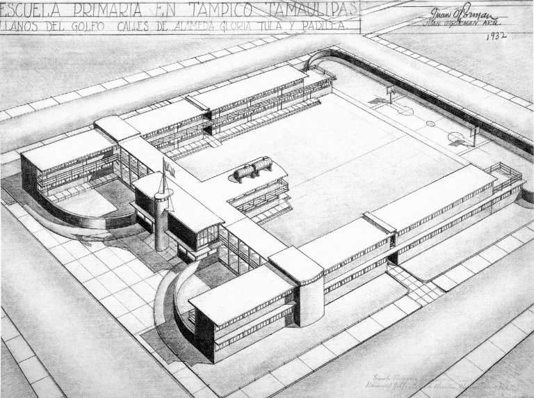 Plan for a Primary School in Tampico, Tamaulipas