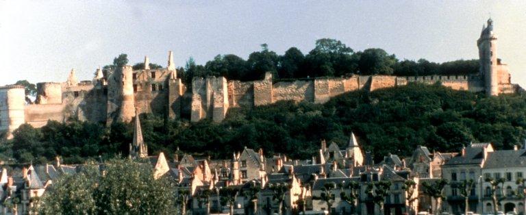 Castle at Chinon