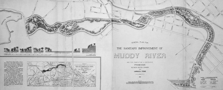 General Plan for the Sanitary Improvement of Muddy River