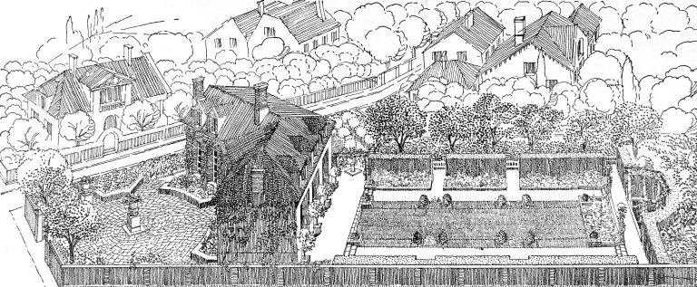 Garden of 1200 Square Meters