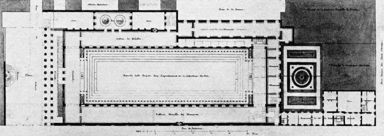 Third Plan of the Bibliotheque Nationale