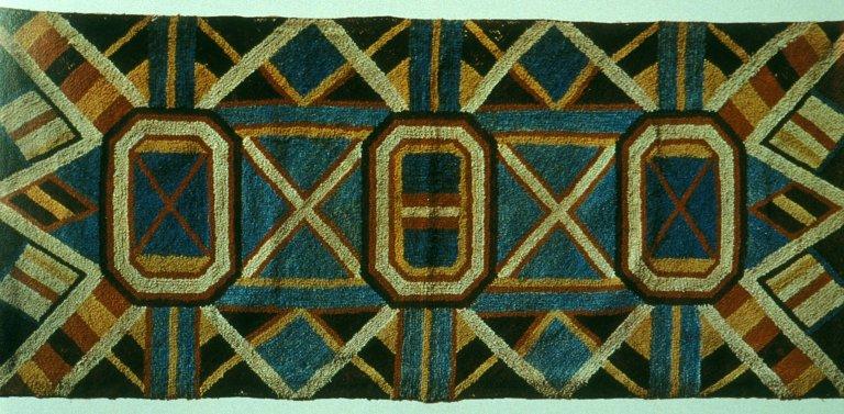Yarn Sewn Rug