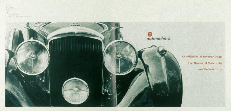 8 Automobiles, MoMA