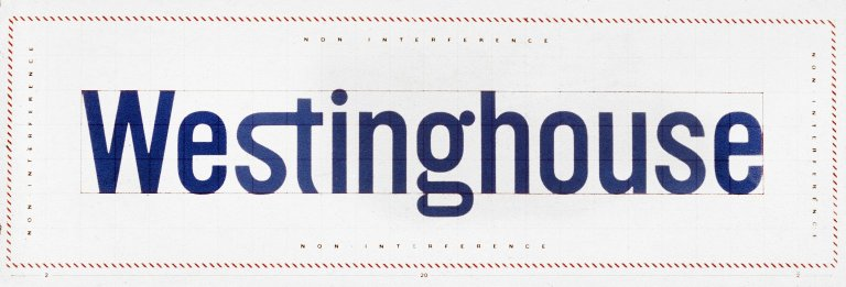 Westinghouse Electric Corporation Logotype