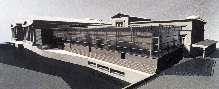 New Entrance Building