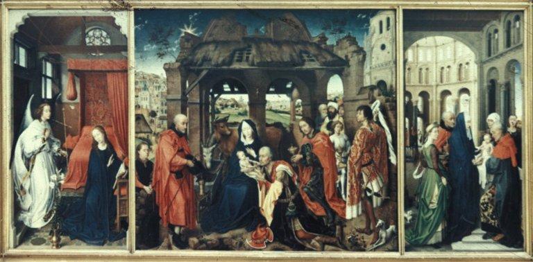 Columba Triptych