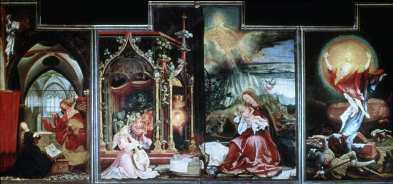 Isenheim Altarpiece: open