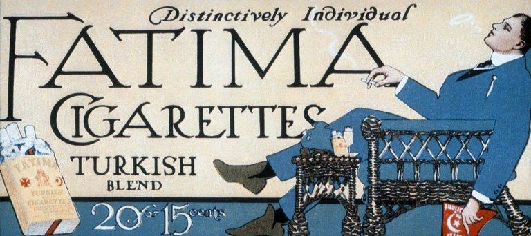 Fatima Cigarettes Billboard