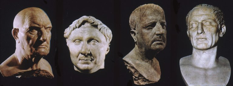 Busts of Roman Males