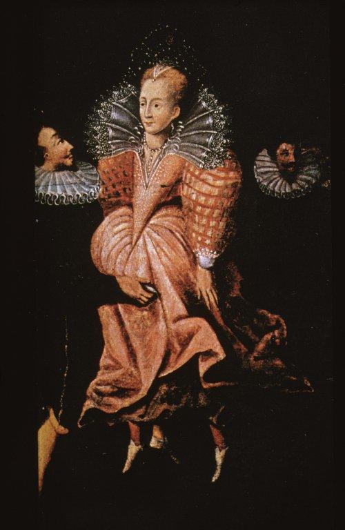 Queen Elizabeth Dancing with Robert Dudley, Earl of Leicester