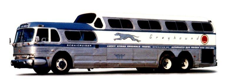 Scenicrusiser Bus for Greyhound