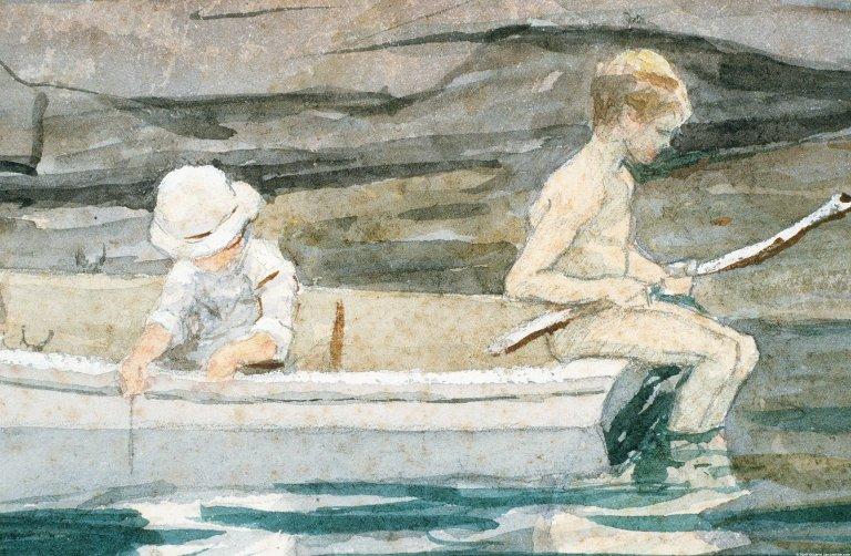 Boys Boating